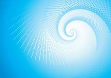 голубое завихрение Стоковые Фото