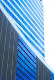 голубое здание корпоративное Стоковые Фото
