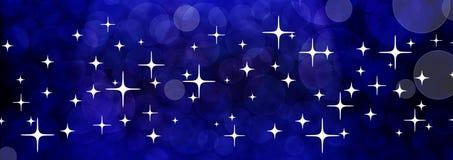 Голубое знамя вселенной иллюстрация штока