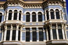 голубое здание Стоковое Изображение RF