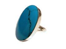 голубое кольцо Стоковая Фотография RF
