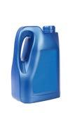 голубое масло двигателя бутылки Стоковое Изображение