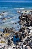 голубое море Сардинии Стоковое Фото