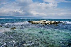 голубое море Стоковые Изображения RF
