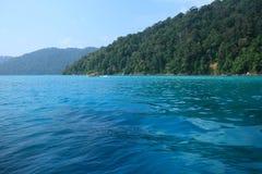 голубое море Стоковое Изображение