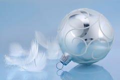 голубое настроение рождества Стоковые Фото