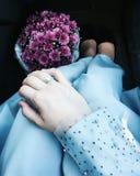голубое настроение Стоковая Фотография RF