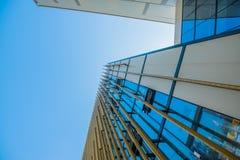 голубое небо вниз Стоковые Изображения