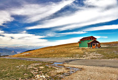 голубое небо ландшафта Стоковые Изображения RF