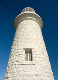 голубое небо маяка высокорослое к взгляду Стоковое Изображение