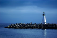 голубое небо маяка Стоковые Изображения
