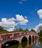 голубое небо моста Стоковые Изображения RF