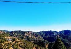 Голубое небо на утре Стоковые Фото