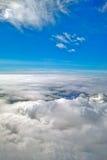 голубое небо облака крупного плана Стоковое Изображение