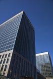 голубое небо офиса здания Стоковые Изображения RF