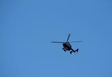 голубое небо полиций тяпки Стоковое Изображение RF