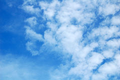 голубое небо Стоковые Изображения RF