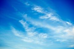 голубое небо Стоковая Фотография