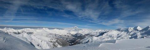 голубое небо moutainview Стоковое фото RF
