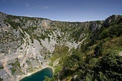 Голубое озеро Стоковые Изображения RF