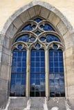 голубое окно церков Стоковое Изображение