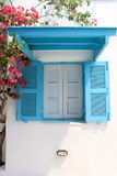 Голубое окно Стоковое Изображение