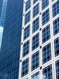 Голубое офисное здание стоковая фотография rf
