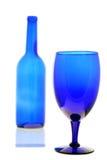 голубое ощупывание Стоковые Фото