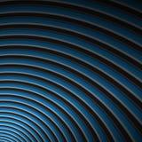 голубое покатое Стоковые Фотографии RF