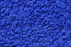 голубое полотенце Стоковая Фотография