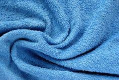 Голубое полотенце Стоковые Изображения RF
