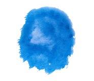 Голубое пятно краски Стоковые Изображения