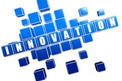 Голубое рационализаторство в блоках бесплатная иллюстрация