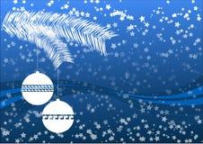 голубое рождество Стоковая Фотография RF