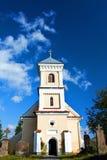 голубое село неба церков стоковое фото