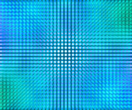 Голубое СИД ставит точки абстрактная предпосылка Стоковая Фотография RF