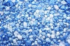 голубое соль Стоковые Фотографии RF