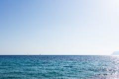 Голубое среднеземноморское Стоковые Изображения