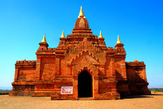 голубое старое небо pagoda Стоковая Фотография RF