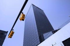 голубое стекло здания Стоковые Фотографии RF