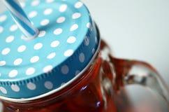 Голубое стекло кружки гренадина Стоковое Изображение