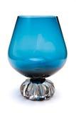 голубое стекло рябиновки Стоковые Фотографии RF
