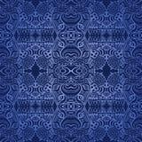 голубое темное безшовное wallpapper Стоковая Фотография RF