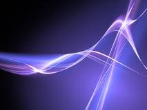 голубое темное пламя Стоковая Фотография