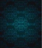 голубое темноты wallpater плавно Стоковое фото RF