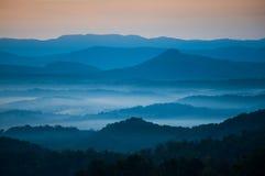 Голубое утро стоковое фото rf