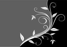 голубое флористическое Стоковые Фотографии RF