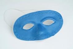 голубое фото маски Стоковое Изображение