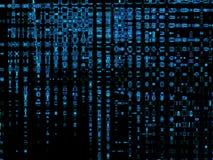 голубое цифровое Стоковое Фото