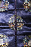 голубое cheongsam Стоковое Фото